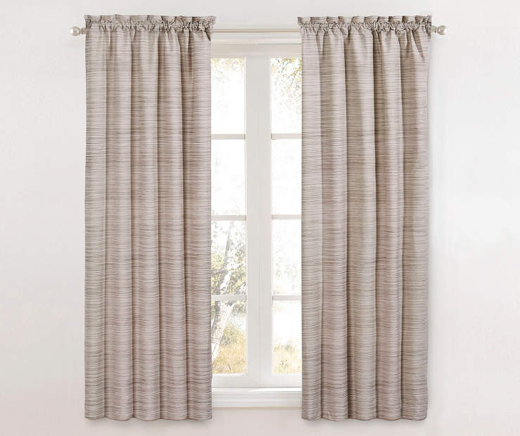 Marble Dewey Thermal Blackout Curtains 63 Inches on Window Room View