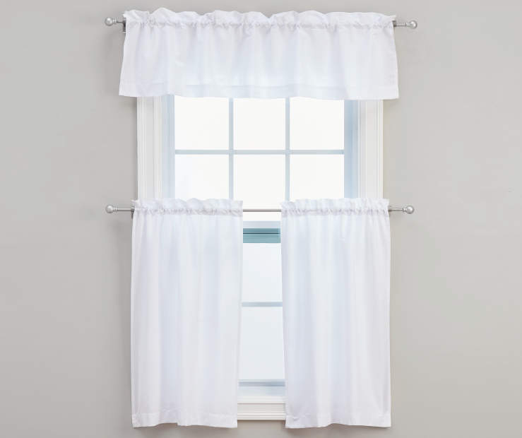Marla Tier and Valance Set 3-Piece On Window