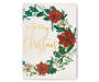 Merry Christmas Wreath Box Plaque silo front