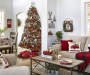 Merry Little Christmas lifestyle image of living room