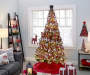 Merry Moments Christmas Tree and Living Room Decor Collection Room Environment Lifestyle Image