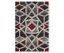 Mesa Bello Pearl Area Rug 6 Feet 7 Inches by 9 Feet 6 Inches Overhead View Silo Image
