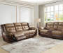 Mesa Brown Motion Sofa Lifestyle