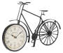 Metal Bicycle Clock Front Angle