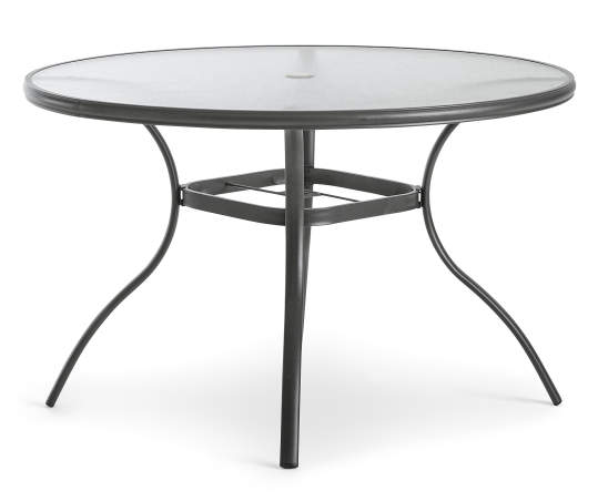 Real Living Metal Frame Glass Round Patio Dining Table Big Lots