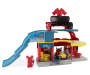Mickey and The Roadster Racers Garage Playset silo front