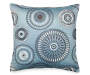Mineral Blue Cleo Decorative Throw Pillow Silo Image