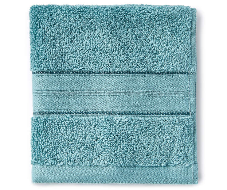 Mineral Blue Wash Cloth silo front