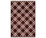 Miranda Accent Rug 2 Feet 6 Inches by 3 Feet 10 Inches Overhead Shot Silo Image