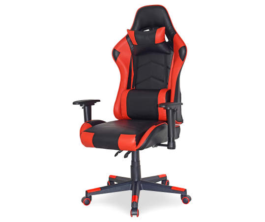 Momentum Furnishings Black Red Reclining Gaming Office Chair Big Lots