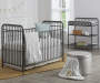 Monarch Hill Ivy Gray Metal Changing Table lifestyle