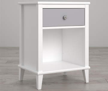 Non Combo Product Ing Price 99 Original 0 List Little Seeds Monarch Hill Poppy White Gray Nightstand