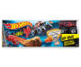 Monster Jam Brick Wall Breakdown Play Set silo front package view