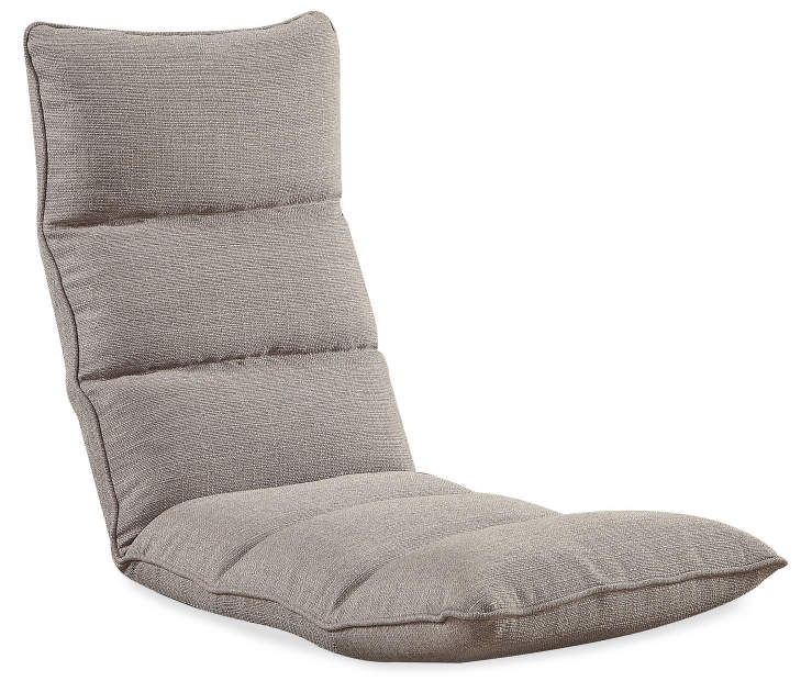 Morris Youth Smoky Gray Convertible Game Chair Silo Angled