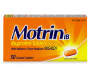 Motrin IB Caplets, Ibuprofen, Aches and Pain Relief, 50 Count