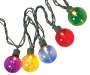 Multi Color Globe Light Set 50 Count Silo