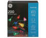 Multi Color Mini Light Set 200 Count silo front package