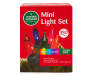 Multi Color Mini Light Set with Green Wire 350 Count silo front package