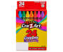 Multi-Color Crayons, 24-Count