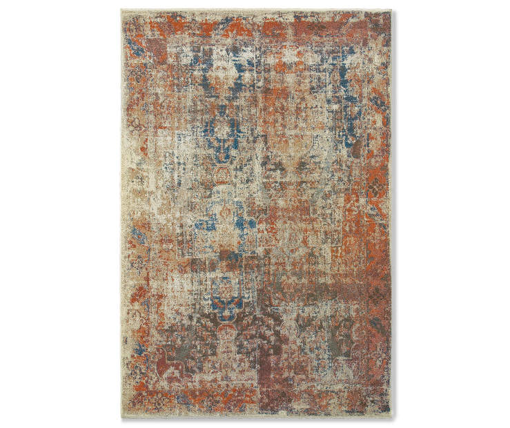 Myia Multi Color Abstract Area Rugs Big Lots
