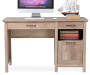 NATURAL 3 DRAWER DESK