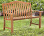 NATURAL SMITH ALUMINUM BENCH