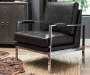 NETWORK BLACK ACCENT CHAIR