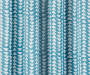 Nalia Blue Triangle Blackout Single Curtain Panel 84 inches Swatch