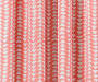 Nalia Coral Triangle Blackout Single Curtain Panel 84 inches Swatch