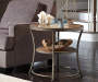 Nartina Brown End Table lifestyle living room