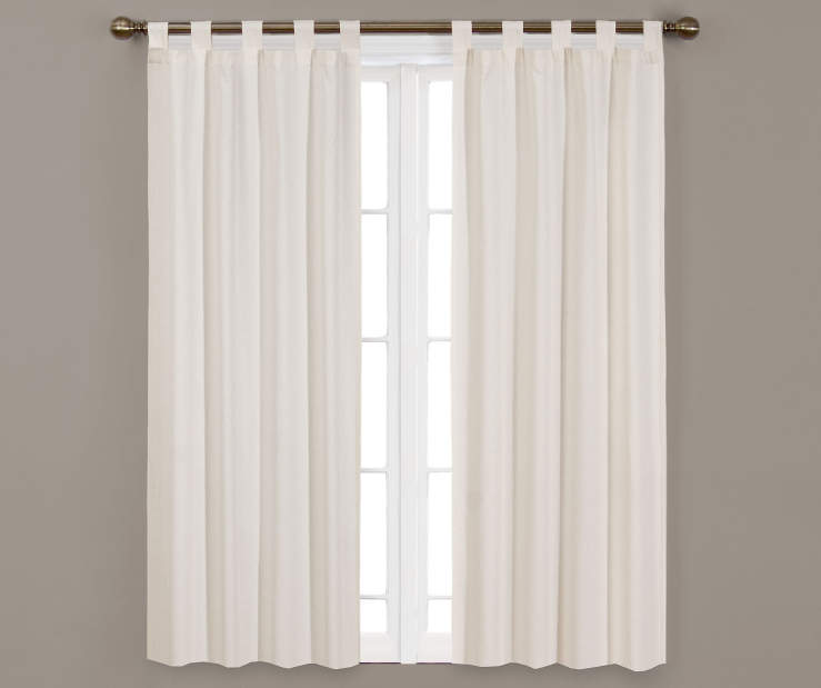 Natural Colorado Curtain Panel Pair on Window Room View
