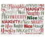 Naughty or Nice Elf Tapestry Placemat Silo