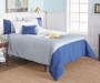 Navy Soft Touch 5 Piece Full/Queen Comforter Set lifestyle