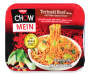 Nissin Chow Mein Teriyaki Beef Flavor Chow Mein Noodles 4 oz. Tray