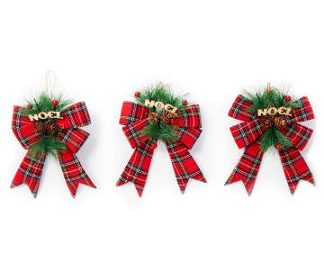 non combo product selling price 60 original price 60 list price 60 - Plaid Christmas Ornaments