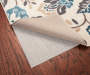 Non-Slip Rug Pad with Sure Grip 56 by 90 Wooden Floor Corner Rug Image