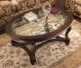 Norcastle Oval Coffee Table lifestyle living room