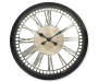 Open Dial Wall Clock 20 Inches Overhead View Silo Image