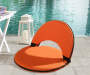 Orange Foldable Lounge Chairs 2 Pack environment