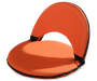 Orange Foldable Lounge Chairs 2 Pack silo front