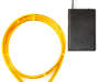 Orange LED Battery Operated Mini Rope Light 9 point 8 feet silo front