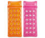 Orange and Pink Inflatable Pool Lounges 2 Pack silo front