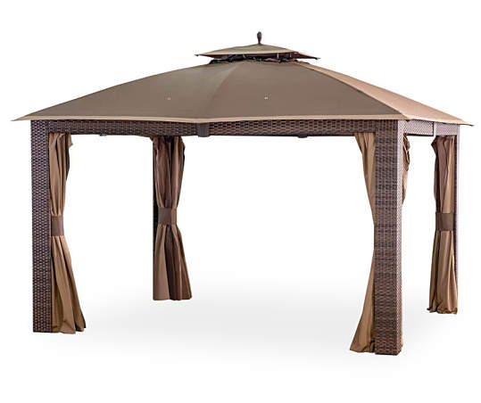 Riviera Gazebo Replacement Canopy 10, Big Lots Outdoor Swing Canopy Replacement