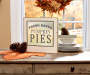 PUMPKIN PIE SIGN