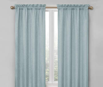 blackout energy efficient curtains big lots. Black Bedroom Furniture Sets. Home Design Ideas