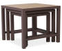Palermo 3 Piece Nesting Side Table Set silo front
