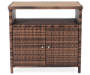 Palermo All Weather Wicker Sideboard silo front