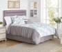 Palisades Blue White and Gray 8 Piece Queen Comforter Set bedroom setting