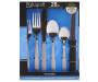 Palisades Silver 24 Piece Flatware Set silo front in package