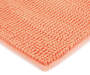 Papaya Punch Textured Bath Rug, 17 by 24 Silo Image Corner Close Up
